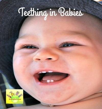 Symptoms of teething in babies
