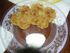 Sweet potato Tikki for Toddlers