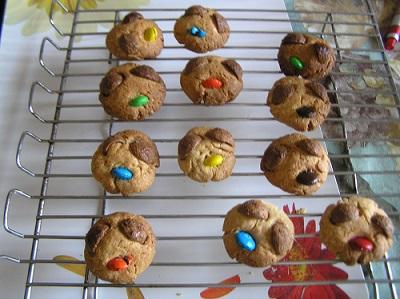 Happy Face Atta Cookies