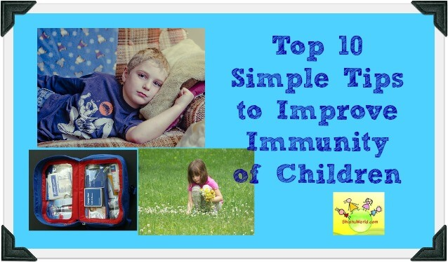 Top 10 Tips To Improve Immunity Of Kids Naturally
