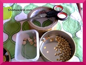 Handmade rattle for babies