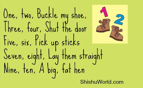 Rhymes to Teach Counting to Kids
