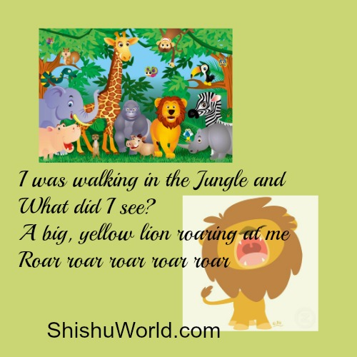 Teach toddlers about wid animals