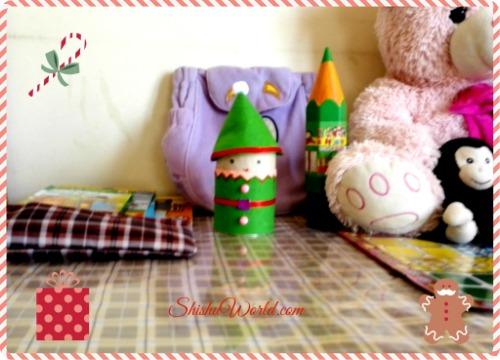 Christmas craft-85 DIY elf stationary box