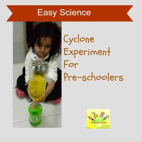 Cyclone Experiment using Plastic bottles