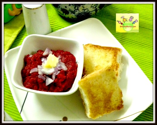 Pavbhaji for kids