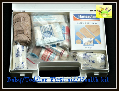 Baby toddler First-aid/ healthKit