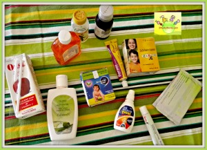Medicines in baby/toddler first-aid kit