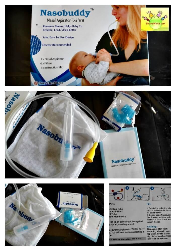 Nasobuddy nasal aspirator review