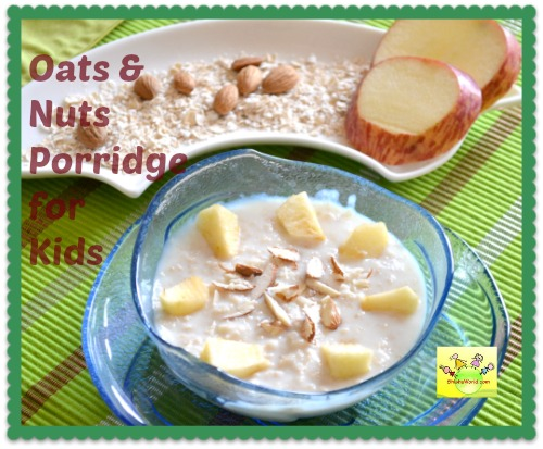 oats recipe for toddlers