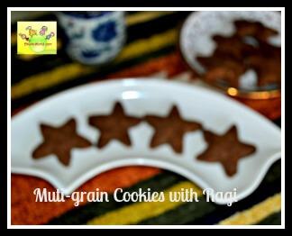 Multi-grain cookies with Ragi