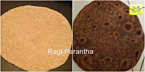 Ragi Parantha
