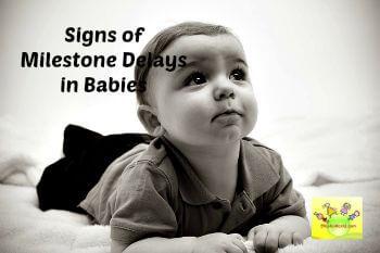 milestone delays in babies