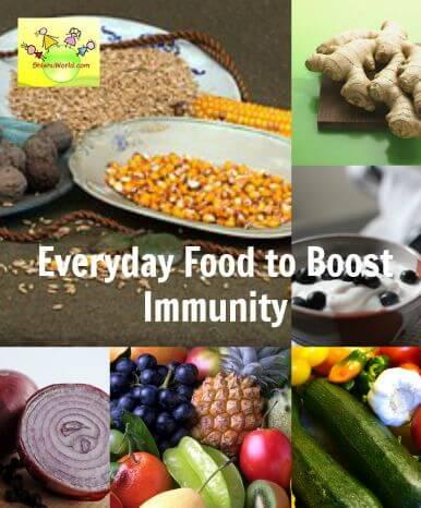 Immunity boosing food