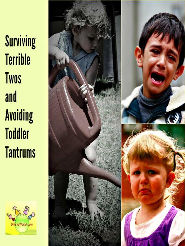 Surviving terrible twos and toddler tantrums