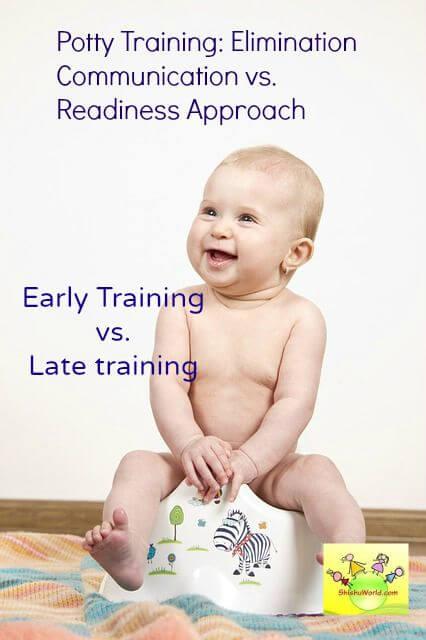 Potty Training: Elimination communication vs. Readiness Approach