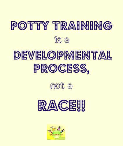 How to potty-train a baby
