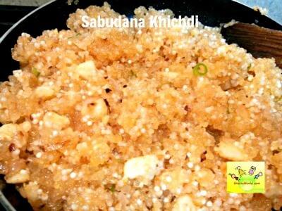Sabudana Khichdi for navratri fasting