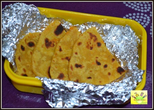 Carrot/ Gajar Parantha: Snack/ Lunchbox Recipe For ...