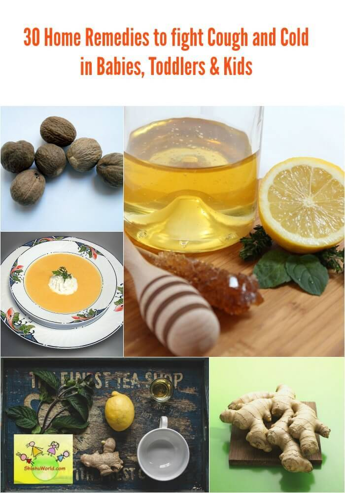 Home remedies for cough and cold in babies, toddlers and kids