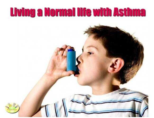 living normal life with asthma