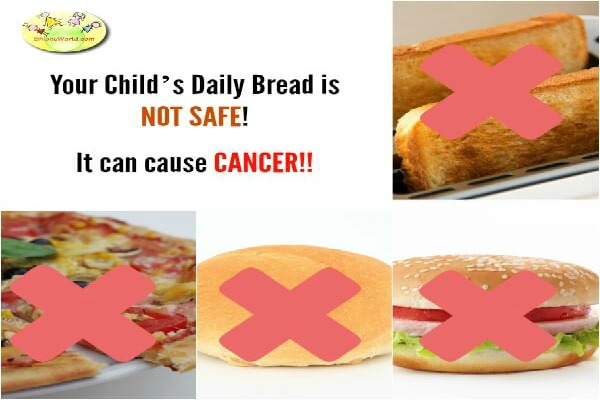 Bread can cause cancer