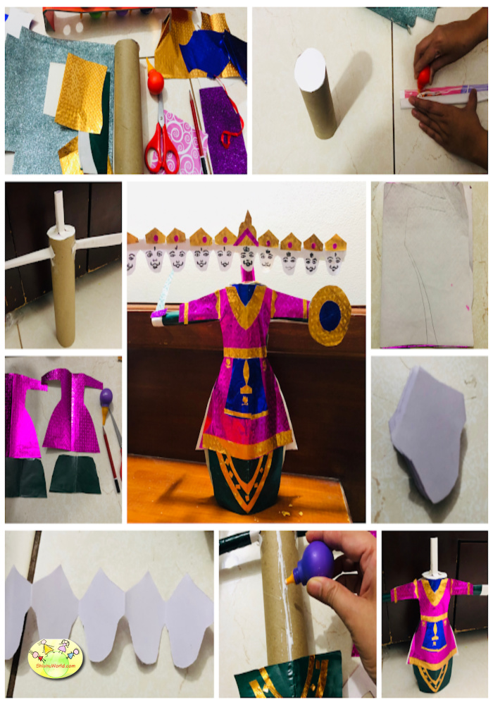 DIY Ravan craft
