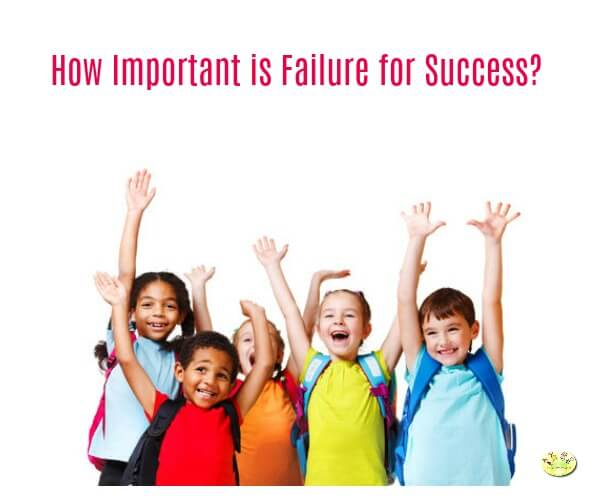 How important is failure for success?