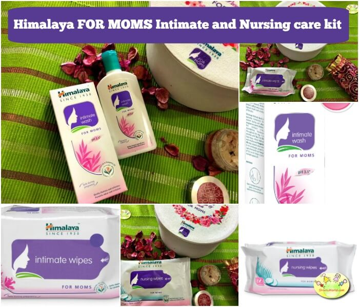 Himalaya FOR MOMS Intimate and Nursing care kit