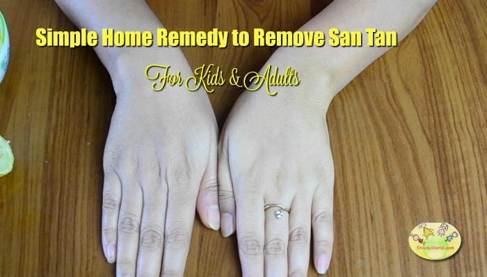 3 Effective Home Remedies To Remove Sun Tan