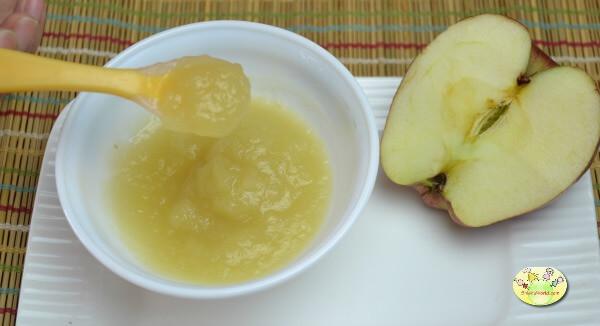 Apple paneer puree