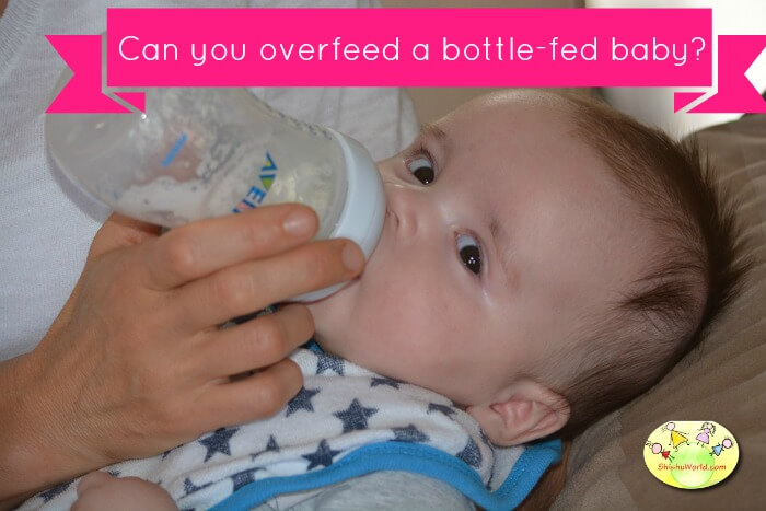 Can you overfeed a bottle-fed baby?