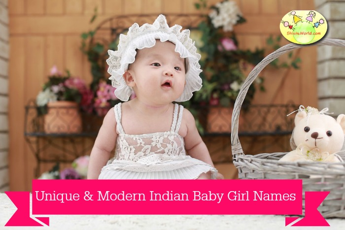 Unique Indian baby girls names