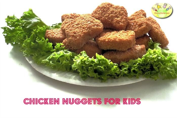 Homemade Chicken nuggets recipe for kids