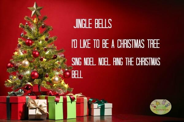 JINGLE BELLS, I's like to be a Christmas Tree, Sing Noel