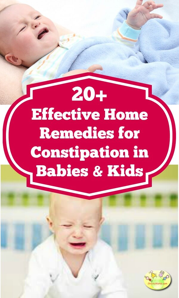 Constipation in Babies, Toddlers & Kids