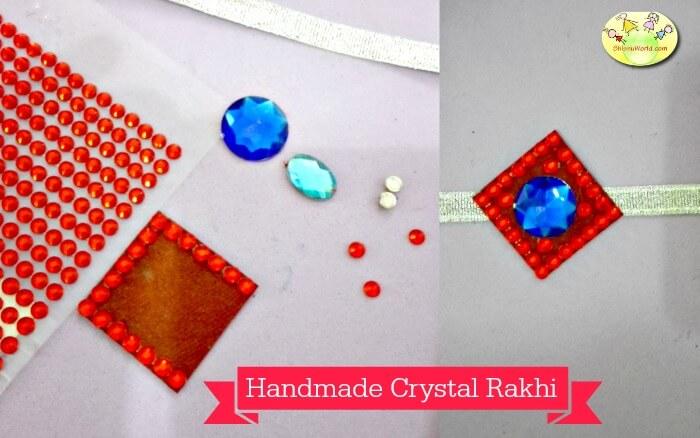 Handmade Crystal Rakhi