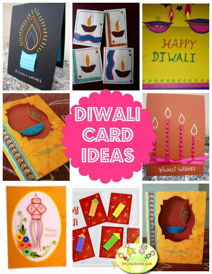 DIY diwali card ideas