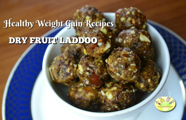 Weight gain recipe: Dates & Nuts Laddoos for kids