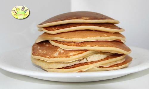 Egg Yolk Pancake for baby