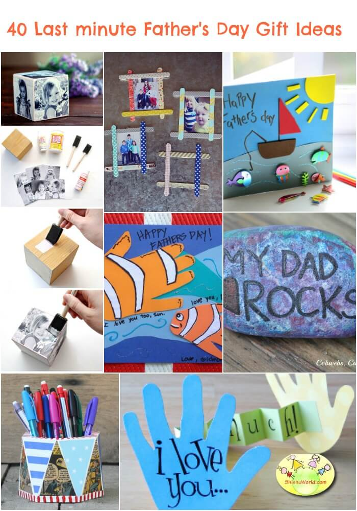 40 Last Minute Father 39 S Day Gift Ideas Diy And Ready Made