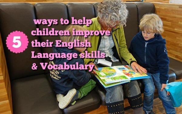 5 ways to improve language and vocabulary