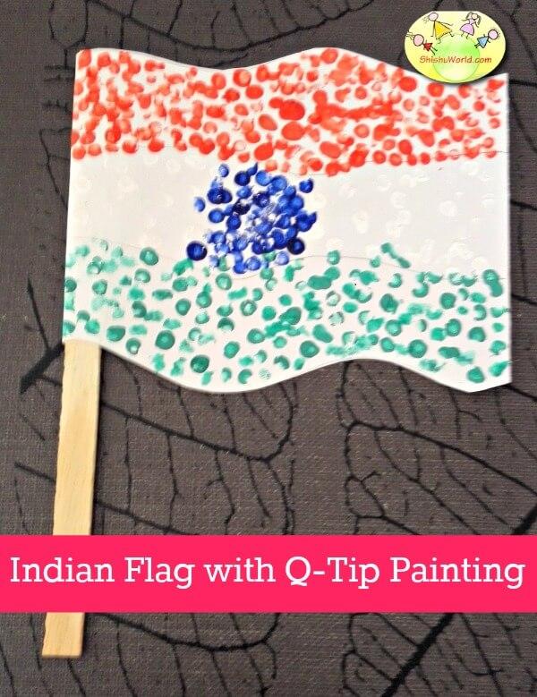 Indian Independence Day flag craft/ Tiranga