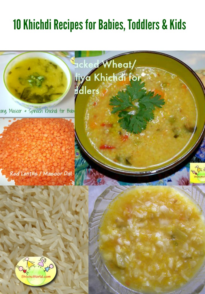 10 khichdi recipes for babies
