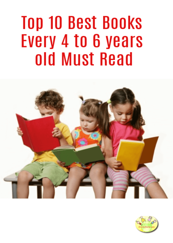 Top 10 Best Books for 4 to 6 years old to Read