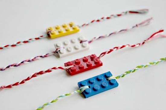 Lego rakhi/ friendship bracelet