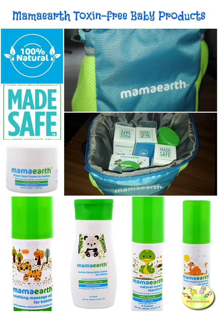 Mamaearth toxin free products
