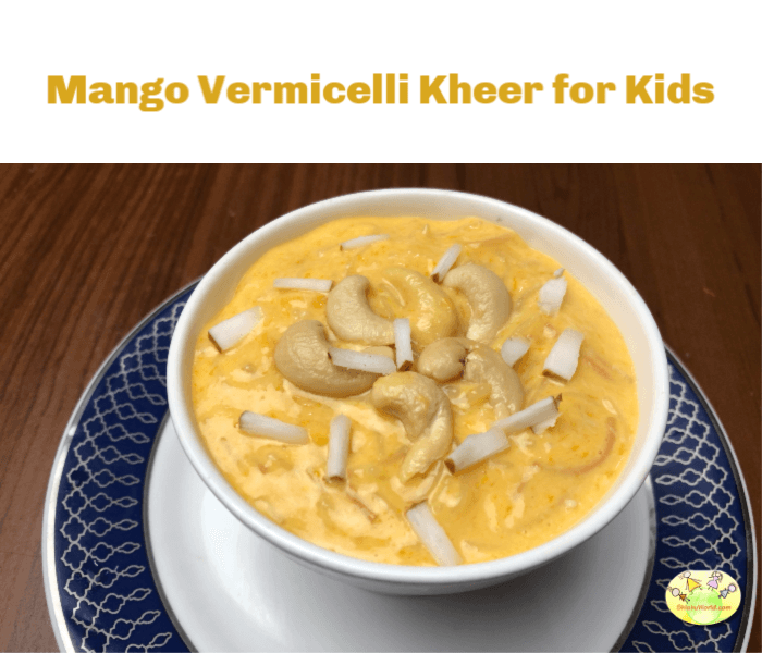 mango vermicelli kheer