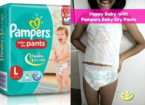 Pampers baby dry pants review
