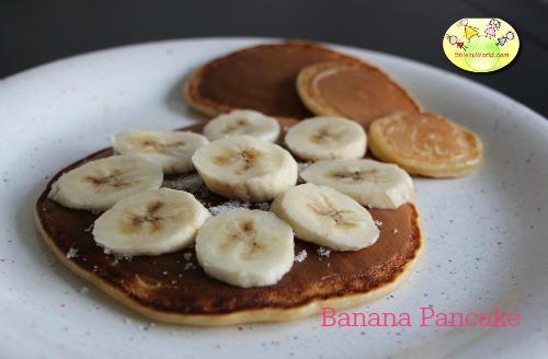 Banana Pancake for Baby